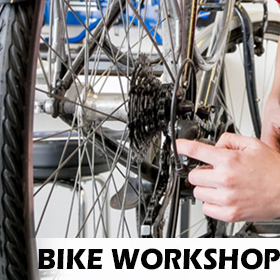 Bike Repairs and servicing can be completed in our workshop